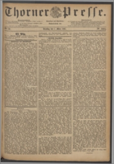 Thorner Presse 1887, Jg. V, Nro. 50