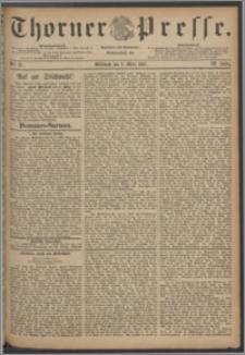 Thorner Presse 1887, Jg. V, Nro. 51