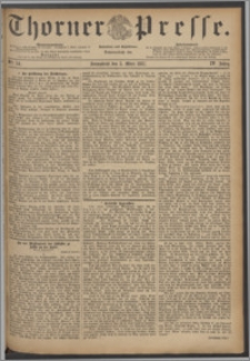 Thorner Presse 1887, Jg. V, Nro. 54