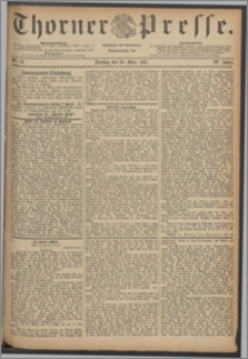 Thorner Presse 1887, Jg. V, Nro. 74