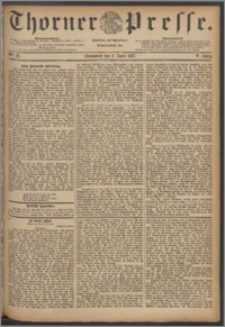 Thorner Presse 1887, Jg. V, Nro. 78