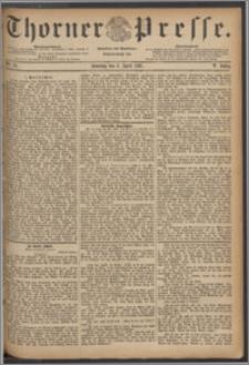 Thorner Presse 1887, Jg. V, Nro. 79 + Beilage