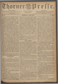 Thorner Presse 1887, Jg. V, Nro. 80