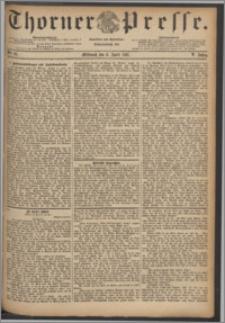 Thorner Presse 1887, Jg. V, Nro. 81