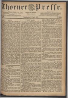 Thorner Presse 1887, Jg. V, Nro. 84 + Beilage