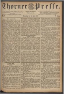 Thorner Presse 1887, Jg. V, Nro. 86