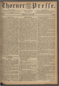 Thorner Presse 1887, Jg. V, Nro. 87