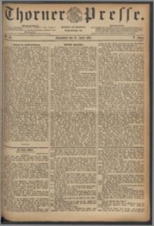 Thorner Presse 1887, Jg. V, Nro. 88