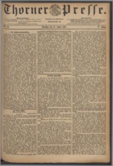 Thorner Presse 1887, Jg. V, Nro. 90
