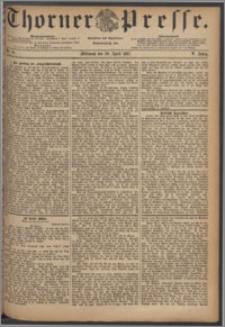 Thorner Presse 1887, Jg. V, Nro. 91