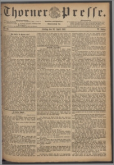 Thorner Presse 1887, Jg. V, Nro. 93