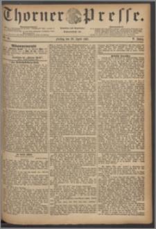Thorner Presse 1887, Jg. V, Nro. 99
