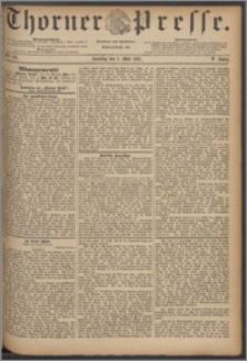 Thorner Presse 1887, Jg. V, Nro. 101 + Beilage, Beilagenwerbung