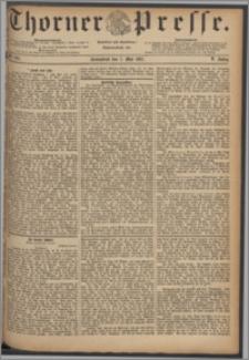 Thorner Presse 1887, Jg. V, Nro. 105