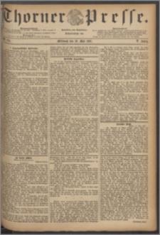 Thorner Presse 1887, Jg. V, Nro. 114