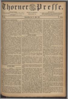 Thorner Presse 1887, Jg. V, Nro. 115