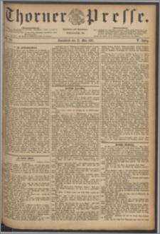 Thorner Presse 1887, Jg. V, Nro. 116