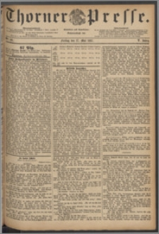Thorner Presse 1887, Jg. V, Nro. 121