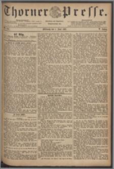 Thorner Presse 1887, Jg. V, Nro. 124