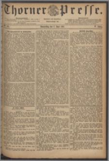 Thorner Presse 1887, Jg. V, Nro. 125
