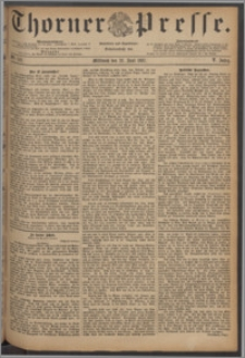 Thorner Presse 1887, Jg. V, Nro. 142