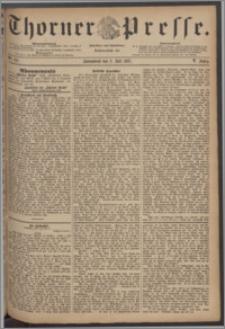 Thorner Presse 1887, Jg. V, Nro. 151