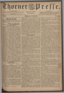Thorner Presse 1887, Jg. V, Nro. 153