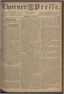 Thorner Presse 1887, Jg. V, Nro. 154
