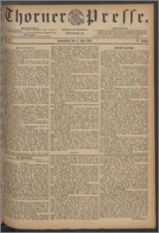 Thorner Presse 1887, Jg. V, Nro. 157