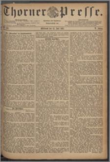 Thorner Presse 1887, Jg. V, Nro. 160