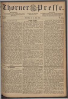 Thorner Presse 1887, Jg. V, Nro. 161