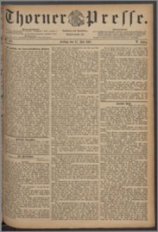 Thorner Presse 1887, Jg. V, Nro. 162