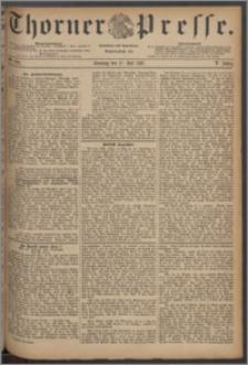 Thorner Presse 1887, Jg. V, Nro. 164 + Beilage