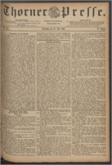 Thorner Presse 1887, Jg. V, Nro. 165