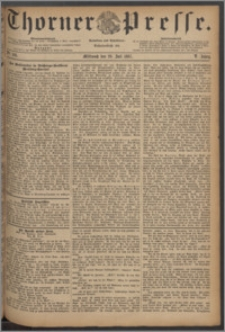 Thorner Presse 1887, Jg. V, Nro. 166