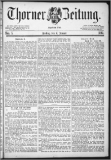 Thorner Zeitung 1882, Nro. 5