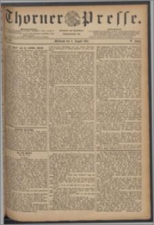 Thorner Presse 1887, Jg. V, Nro. 178