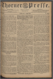 Thorner Presse 1887, Jg. V, Nro. 180