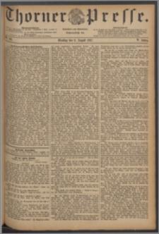 Thorner Presse 1887, Jg. V, Nro. 183 + Beilagenwerbung