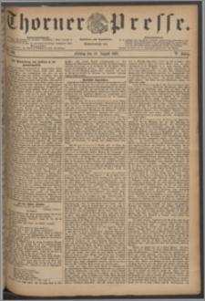 Thorner Presse 1887, Jg. V, Nro. 186
