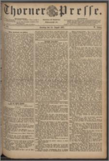 Thorner Presse 1887, Jg. V, Nro. 188
