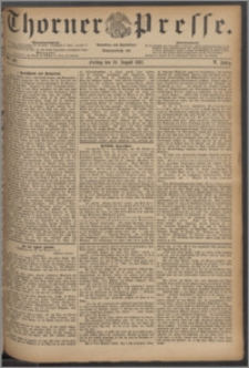 Thorner Presse 1887, Jg. V, Nro. 192