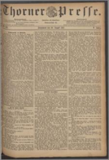 Thorner Presse 1887, Jg. V, Nro. 193
