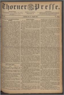 Thorner Presse 1887, Jg. V, Nro. 194 + Beilage