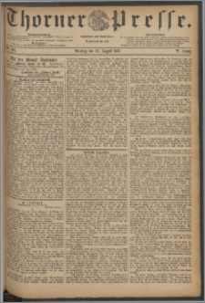 Thorner Presse 1887, Jg. V, Nro. 195