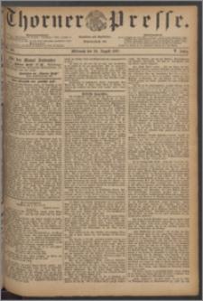 Thorner Presse 1887, Jg. V, Nro. 196