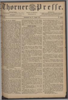 Thorner Presse 1887, Jg. V, Nro. 199