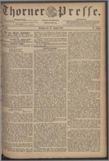 Thorner Presse 1887, Jg. V, Nro. 200 + Beilage