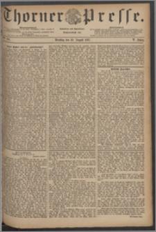 Thorner Presse 1887, Jg. V, Nro. 201