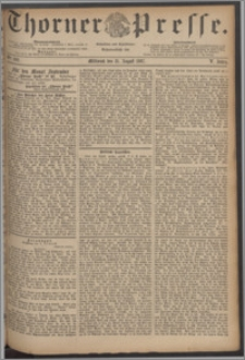 Thorner Presse 1887, Jg. V, Nro. 202